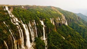 largest waterfall in india