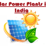 list of solar power plants in india